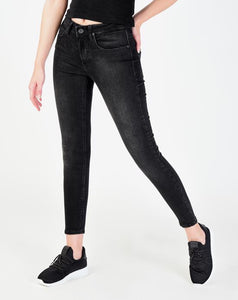 Women's Pocket Smoky Skinny Jeans - Trendyul