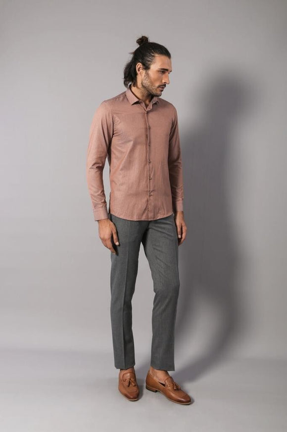 Men's Slim Fit Shirt - Trendyul