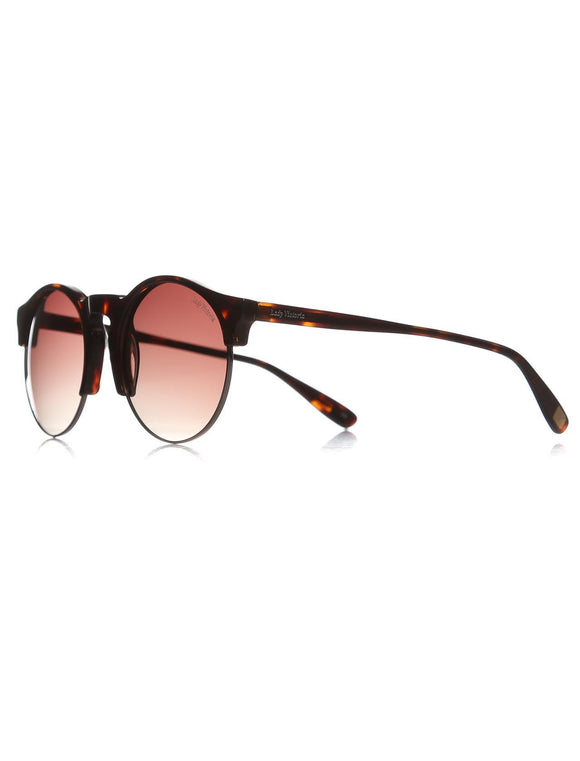 Women's Patterned Semi-Frame Sunglasses - Trendyul
