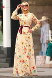 Women's Floral Pattern Dress - Trendyul