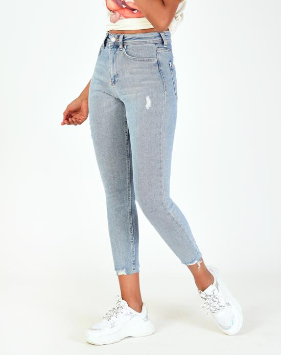 Women's Pocket Basic Jeans - Trendyul