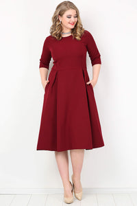 Women's Oversize Pocketed Dress - Trendyul