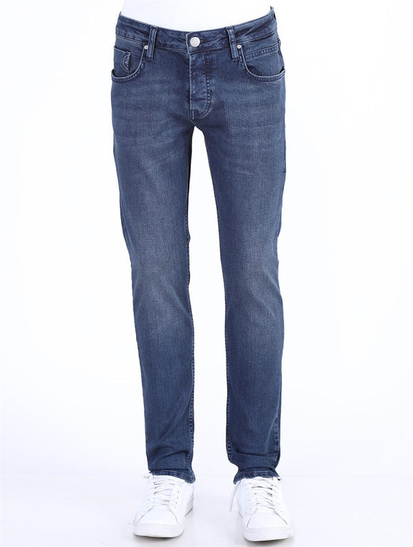 Men's Pocket Blue Jeans - Trendyul