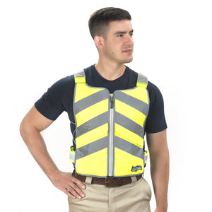 FlexiFreeze® Professional Series Ice Vest® - Hi-Vis Yellow