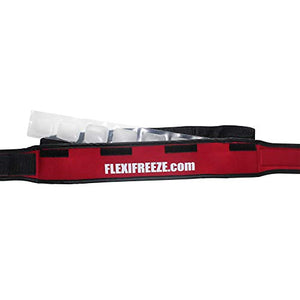 FlexiFreeze Cooling Collar, Red
