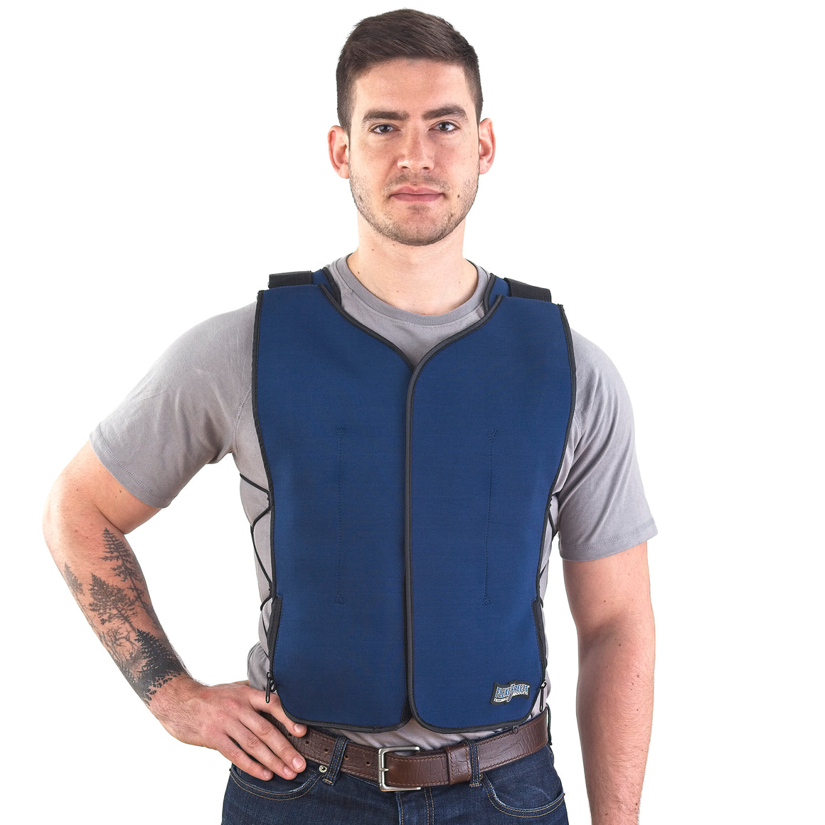 FlexiFreeze Ice Vest - Zipper Front
