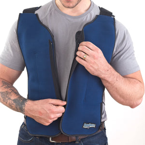 FlexiFreeze® Ice Vest® - Zipper Front