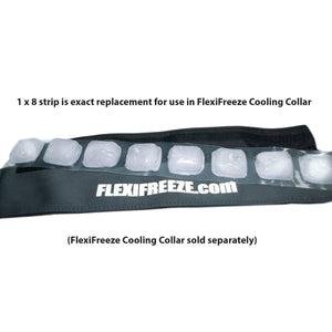 FlexiFreeze® 8 cube ice strip, Bulk 100 count