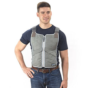 FlexiFreeze® Professional Series Ice Vest® - Charcoal