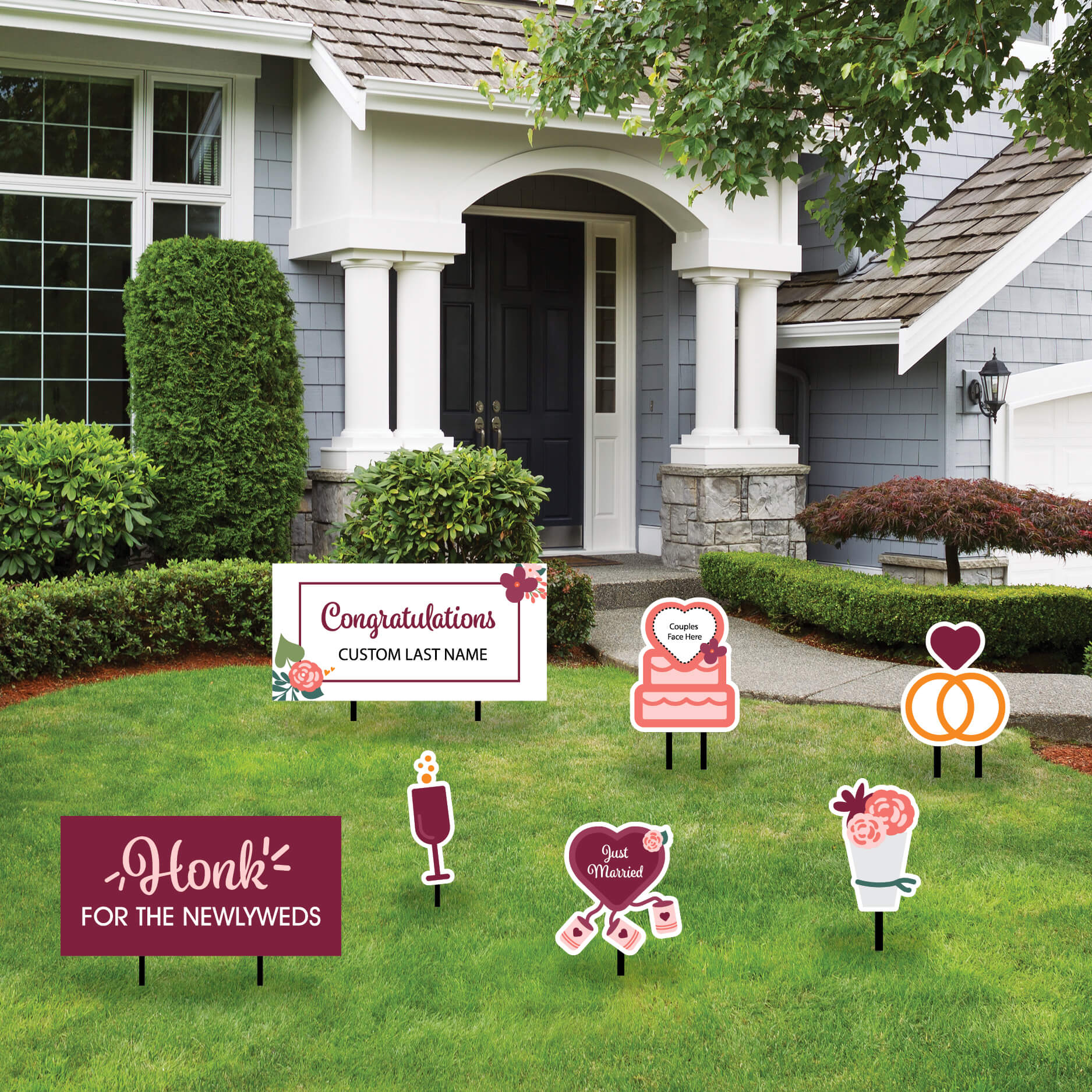 Yard Signage Custom Package