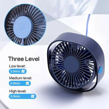 Load image into Gallery viewer, Boat USB Desktop Electric 3 Speed Adjustable Mini Portable Fan - Boat-yard.com