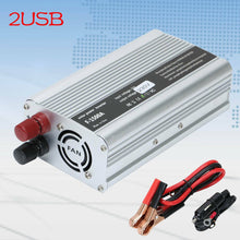 Load image into Gallery viewer, 1500w 2USB power inverter DC 220V to 240V car vehicle Adapter converter - Boat-yard.com