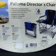 Load image into Gallery viewer, Folding Chair Director's Paloma Camping Boat - Boat-yard.com