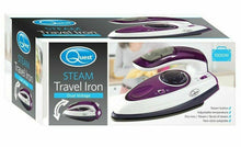 Load image into Gallery viewer, Quest Travel Steam Iron - 1000w Collapsible Mini Iron, Portable, Ergonomical - Boat-yard.com