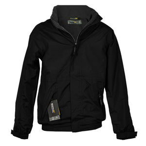Mens Regatta Dover Jacket Fleece Lined Waterproof Hood Full Zip Hydrafort New - Boat-yard.com