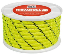 Load image into Gallery viewer, Fluorescent rope 100% Polyester double braided, sailing control line, camping, - Boat-yard.com