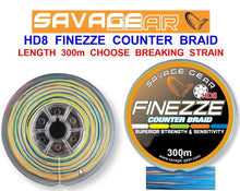 Load image into Gallery viewer, SAVAGE GEAR HD8 FINEZZE COUNTER BRAID SEA FISHING LINE FOR BEACHCASTER BOAT RODS - Boat-yard.com