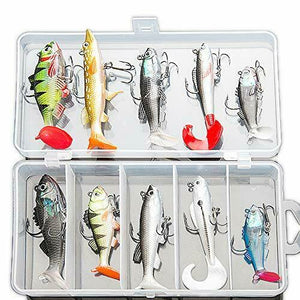 Soft Fishing Lures Kit, Fishing Lures Baits Tackle Set for  sea fishing - Boat-yard.com