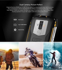"5.7"" Blackview BV6800 Pro 4GB+64GB Rugged Smartphone Waterproof Mobile Phone NFC - Boat-yard.com"