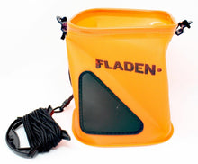 Load image into Gallery viewer, Fladen Fishing Orange Collapsible Bucket with Drop Rope - Boat-yard.com