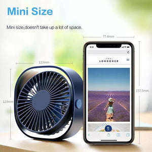 Boat USB Desktop Electric 3 Speed Adjustable Mini Portable Fan - Boat-yard.com