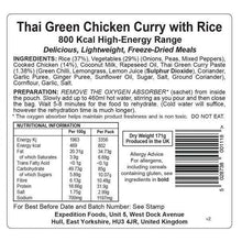 Load image into Gallery viewer, Boat meals  6 x Expedition Foods Thai Green Chicken Curry with Rice (800kcal) - Boat-yard.com