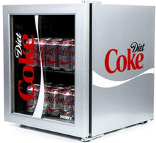 Load image into Gallery viewer, Husky Freestanding Diet Coke Mini Fridge 43L Silver - Boat-yard.com