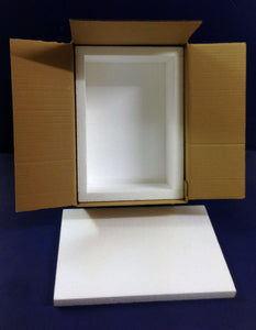 POLYSTYRENE COOL FISH BOX  ROYAL MAIL DEEP SMALL SIZE - Boat-yard.com