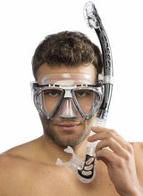 Load image into Gallery viewer, Cressi Ultra Dry Mask Snorkel Set Scuba + Free Diving Equipment Splash Guard - Boat-yard.com