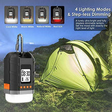 Load image into Gallery viewer, Boat LED Camping Lantern Rechargeable&Power Bank 15000mAh, Sinvitron Small, Black - Boat-yard.com