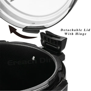 6L Non-Stick Multi Function Electric Pressure Cooker Stainless Steel Rice Pot - Boat-yard.com