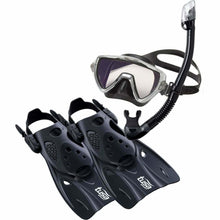 Load image into Gallery viewer, Tusa Visio Pro Travel Snorkelling Set - Boat-yard.com