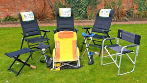 High quality directors deck chair , camping chair , boat chair , BRUNNER BRAVURA - Boat-yard.com