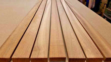 Load image into Gallery viewer, IROKO TIMBER BOAT DECK SLATS WOOD 10mm - MULTIPLE LENGTHS (AFRICAN TEAK ) - Boat-yard.com