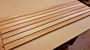 IROKO TIMBER BOAT DECK SLATS WOOD 10mm - MULTIPLE LENGTHS (AFRICAN TEAK ) - Boat-yard.com