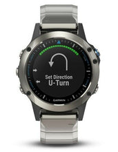 Load image into Gallery viewer, Garmin GPS Quatix 5 Sapphire Titanium Fishing Navigation Nautic Sailing - Boat-yard.com
