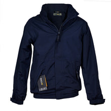 Load image into Gallery viewer, Mens Regatta Dover Jacket Fleece Lined Waterproof Hood Full Zip Hydrafort New - Boat-yard.com
