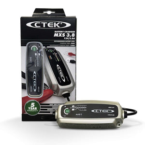 CTEK MXS 3.8 Battery Charger  Charges & Maintains Car and Motorcycle Batteries - Boat-yard.com