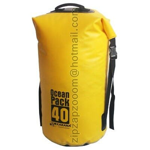 Karana Ocean Dry Pack Waterproof Kayak Shoulder Day Duffle Bag Rucksack Sack 40L - Boat-yard.com
