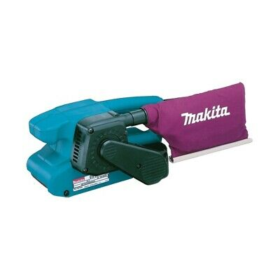 Makita 9911 Belt Sander 76MM X 457MM Belt Size 240v With Dust Bag 3 pin uk plug - Boat-yard.com