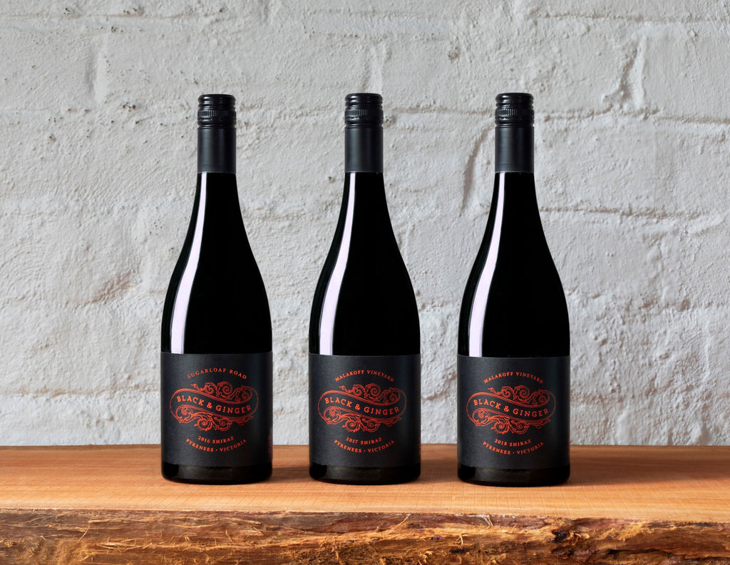 Black & Ginger - Great Western Shiraz