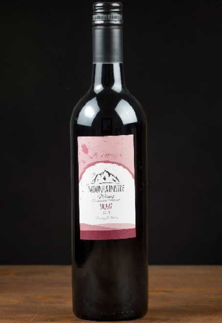 Mountainside Wines - Shiraz