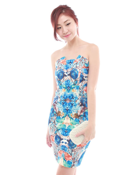Vanya Printed Dress