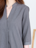 Anders Shirt Dress in Grey | *MADEBYWC
