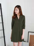 Anders Shirt Dress in Olive | *MADEBYWC