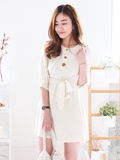 Cordelia Buttons Shirt Dress