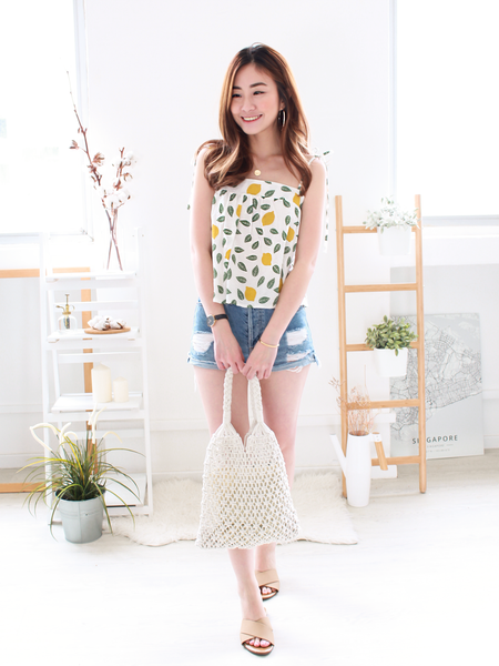 Lemons Summer Top