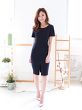 Louis Slit Midi in Navy | *MADEBYWC