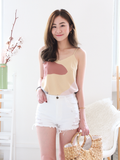 Axel Graphic Top in Yellow
