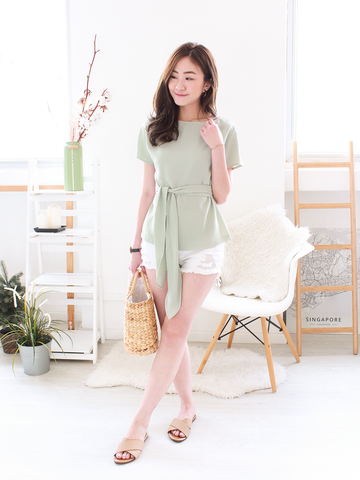 Jolyn Overlap Dress